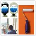 Roll heat insulation nano liquid glass coating for building glasses