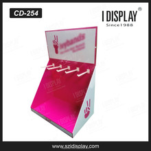 high quality cosmetics pdq hanging counter display counter merchandise display