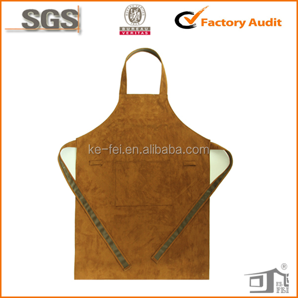 high quality vintage waterproof leather welding apron for adults