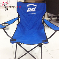 Promotion gifts logo printed foldable folding fishing camping chair