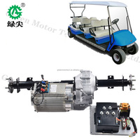 10w electric outboard conversion kit with controller assembly