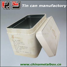 China tea tin box/tea suger coffee canister/tea tin container
