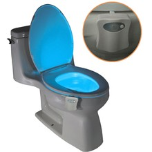 In Stock Now Motion Activated Toilet Nightlight, Led Toilet Nightlight with Sensor