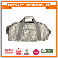 2016 best selling disruptive pattern duffle travel sports bag