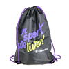 2017 Alibaba 210D Polyester Drawstring Custom Sports Bag with logo
