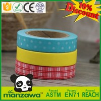 New design washi masking tape for wave soldering washi tape gift wrap ideas washi paper tape for