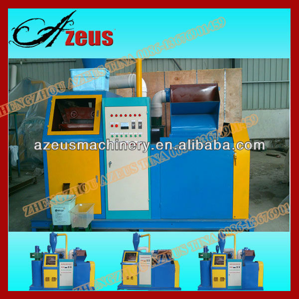 Super Good Quality Electrical Cable Wire Chopping Machine/Scrap Copper Cable Recycling Peeler