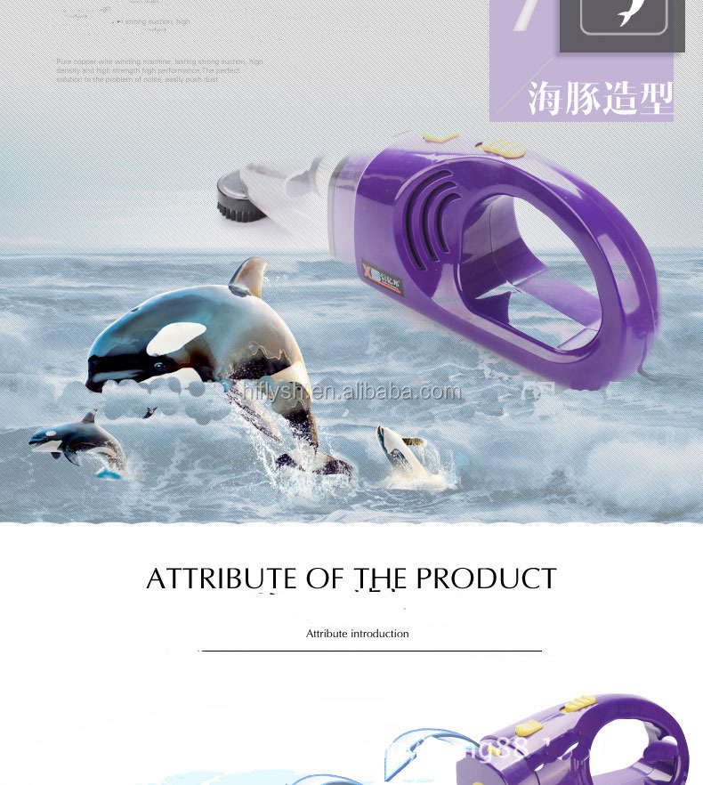 HF-612(005) DC12V Newest 120W Portable Car Vaccum Cleaner the Promotion Auto Vacuum Cleaner for Car (CE certificate)