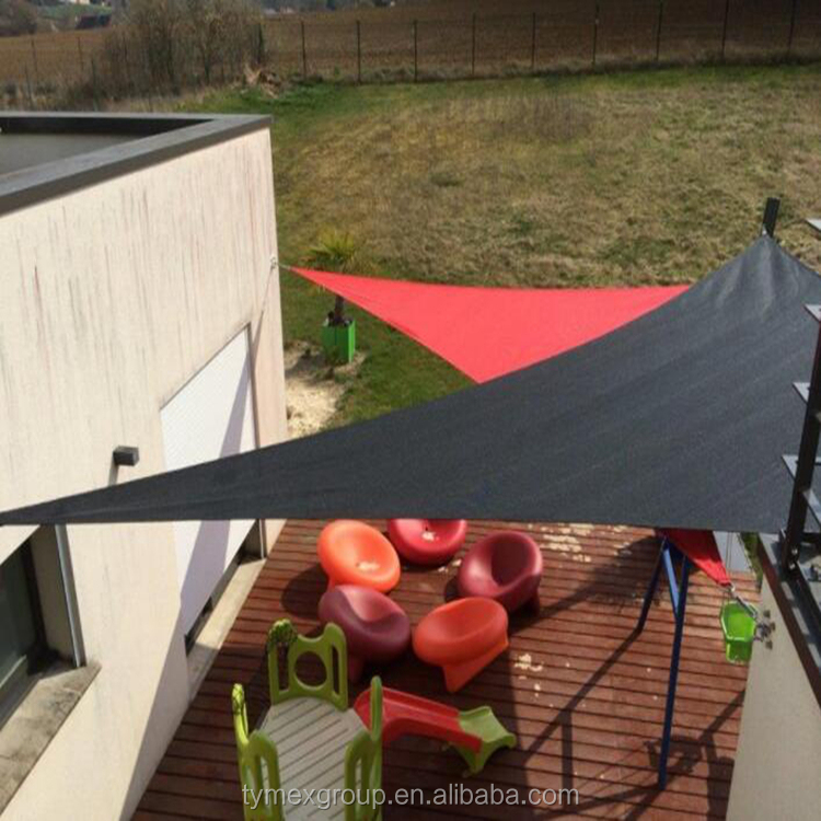 5 years using life USA market triangle or square,Hdpe Anti UV Square Sun Shade Sail 3.6 x 3.6m For Outdoor , Courtyard