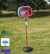 Height Adjustable Stand Basketball Ball Outdoor Stand For Kids Game Play