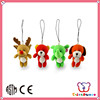 ICTI Factory cute style popular animal keychain toy