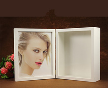 Square Bulk Shadow Box Frame, Frame Box Sexy Girl Picture