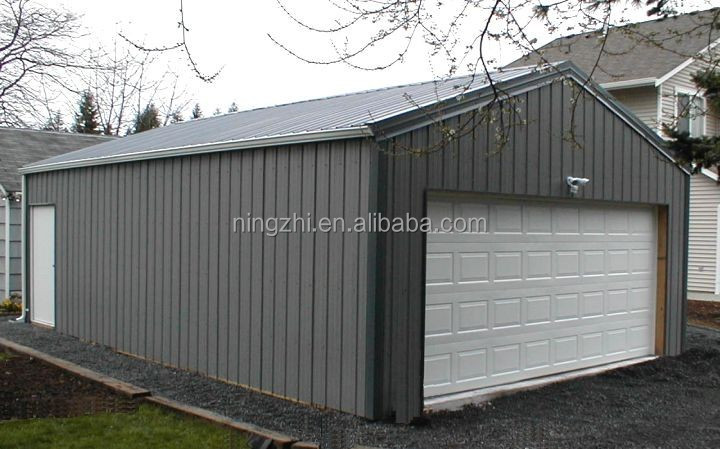 Prefab steel garage workshop building metal storage shed Prefab workshops garages