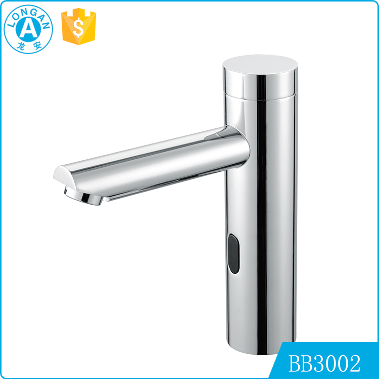 high quality lavatory bathroom sink sensor electrical automatic faucet