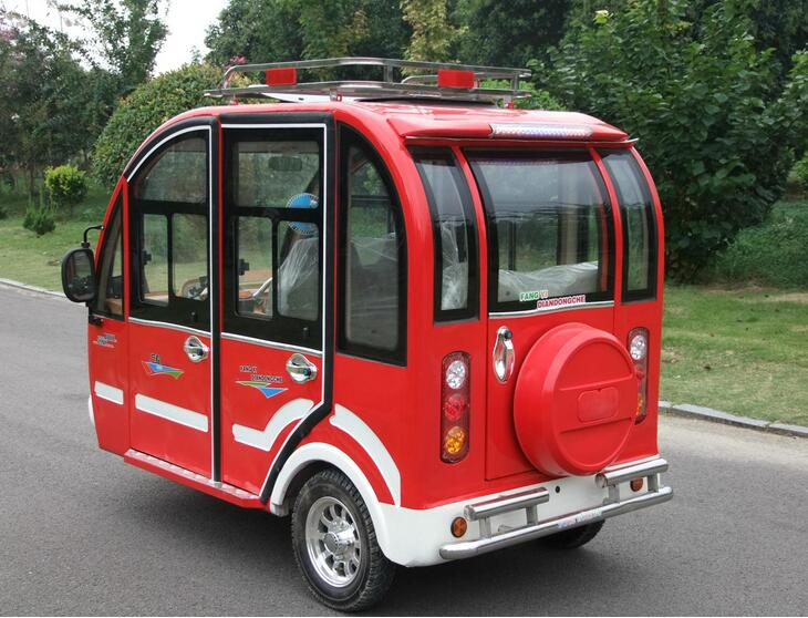 New Shape newest Electric tricycle for passenger use for taxi