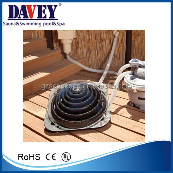 new inflatable swimming pool solar water heater