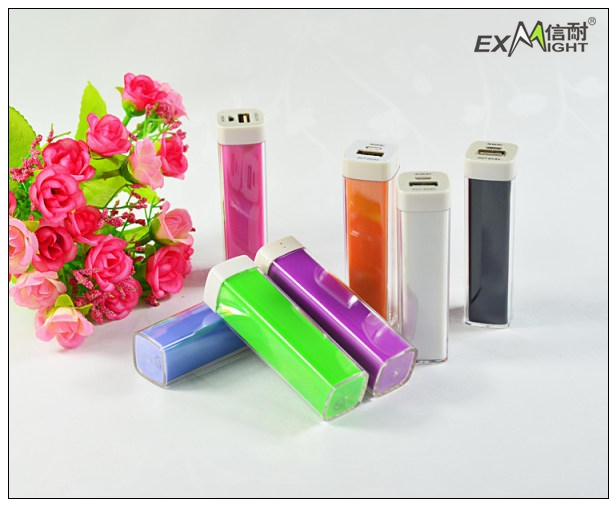 2013New coming 2600mah gift power bank for handphone