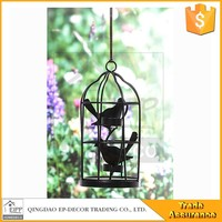 Home Decor Metal Birdcage Candle Holder Antique Metal Candle Lantern