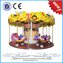 candy knight !amusement park carousel rides pirate ship offered for sale