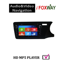 Original Android 8'' Car DVD Player for Honda City 2014 with free mirror link and airplay