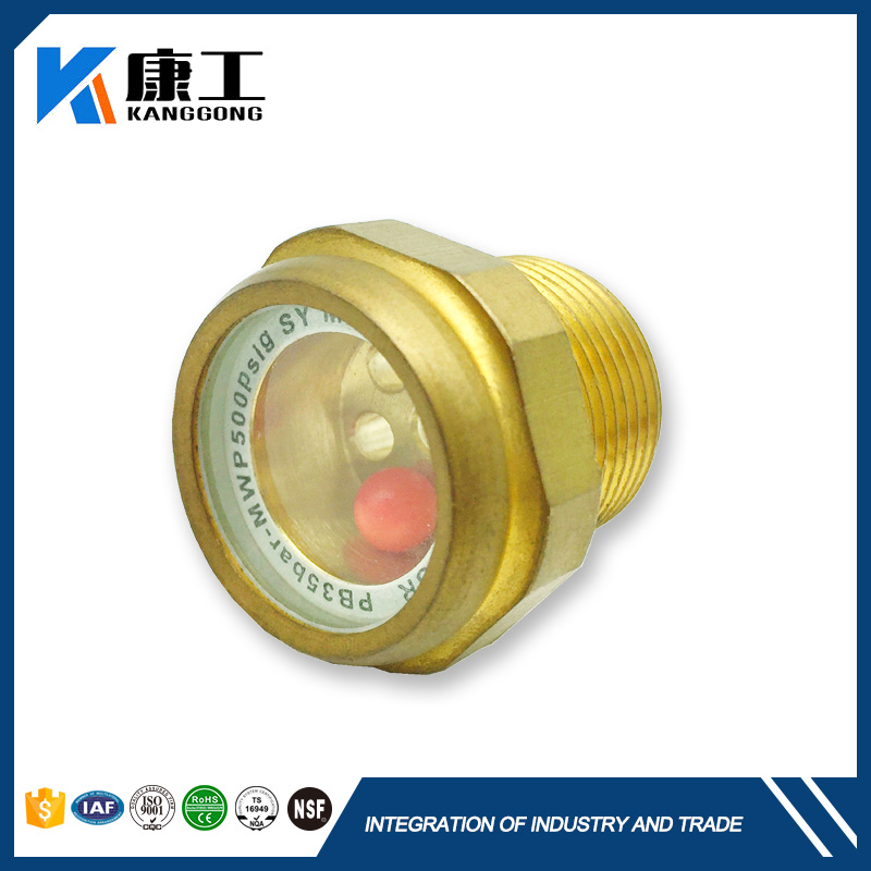 High Pressure Liquid Level Indicator Fluid Level Stainless Steel Sight Glass