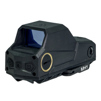 ANS MH1 Tatical Optics Red Dot Sight Reflex Sight with Largest Field of View Night Vision Dual Power Source (BK/TAN/GR)