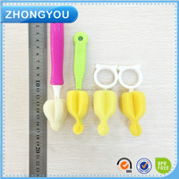 easy cleaning nipple brush.pacifier brush