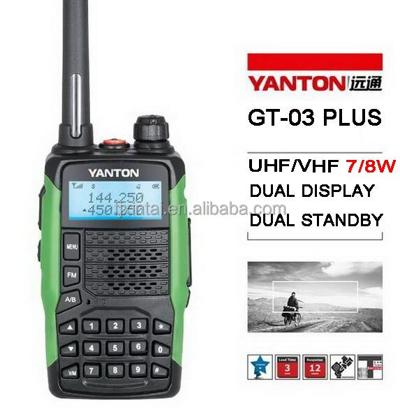 CE Approved vhf long distance radio <strong>communication</strong> (YANTON GT-03PLUS )