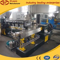 China diy plastic raw material ldpe extruder machine for pelletizing