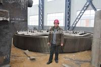 large heavy casting girth gear ring