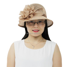 Women Philippine Sinamay Church Hat for Summer