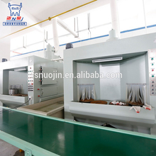 Automatic powder coating oven racks for production line