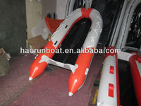4.3m PVC inflatable rubber boat for sale