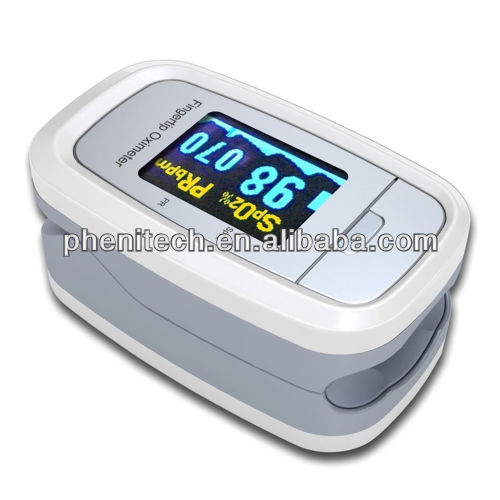 Refers to the clip-on saturation meter pulse blood oxygen concentration heart rate monitor