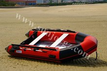 China supplier new product pvc inflatable air floor motor boat zodiac inflatable boat