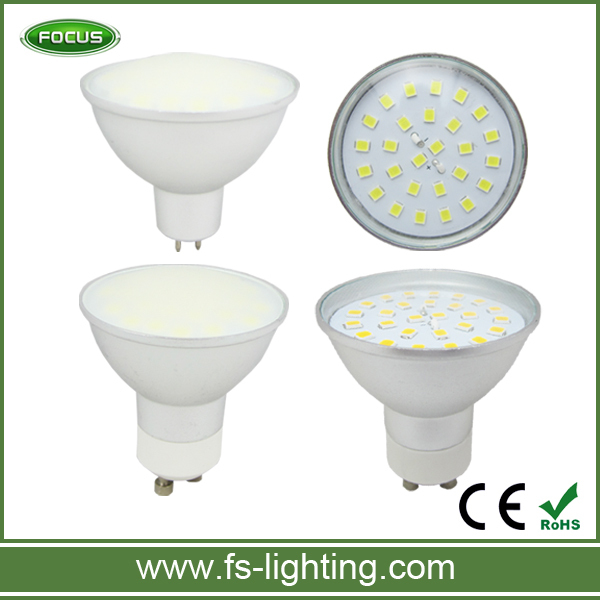 gu10 led bulb made with 27smd led in 5W