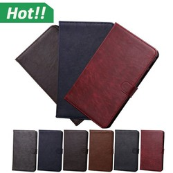 Hot Selling High Quality PU Leather Wallet Flip Cover Case for 10inch Samsung Tab 4 10.1