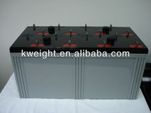 2V3000Ah deep cycle discharge lead acid battery for off grid hybrid diesel solar system