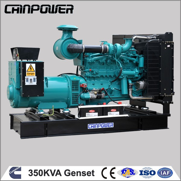 350kva open type hydrogen power with stirling engine generator for sale