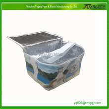 promotional insulated lunch polyester cooler bag