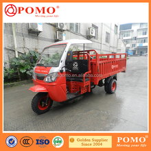 Adult Shopping Tricycles CDI 5 Speed And 1 Reverse Gear Ape Piaggio 300cc Water Cooled Tricycle
