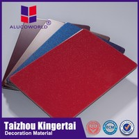 Alucoworld PE coating interior wall decorative aluminum composite panel