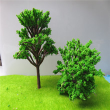 Scale model architecture tree in making factory
