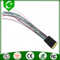 I-PEX 20455 to open end lvds twisted pair wire harness assembly for led