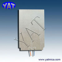 China Manufacturers Rapid warming mica heater etched foil