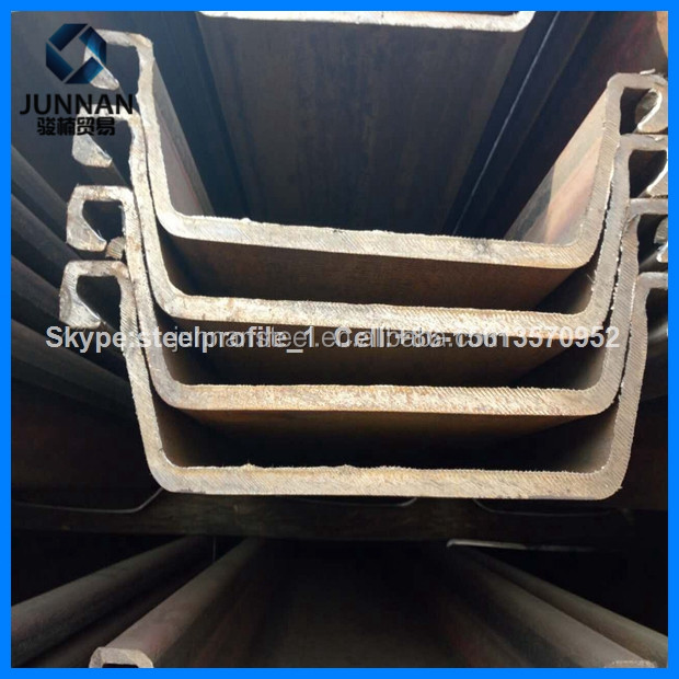 High Strength Steel Plate Special Use and SY295/SY390/S355JR Steel Sheet pile /