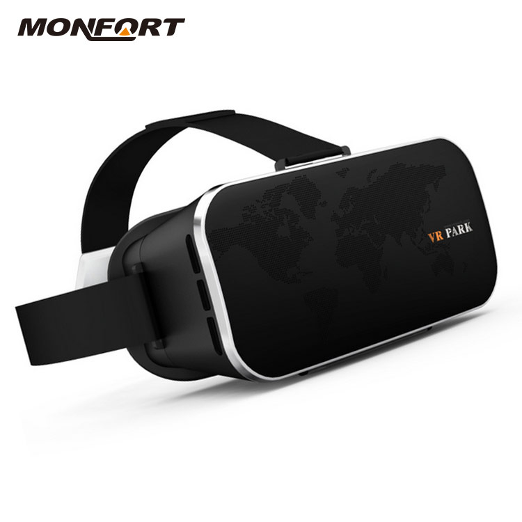 Newest model custom logo print virtual reality video 3d vr glasses