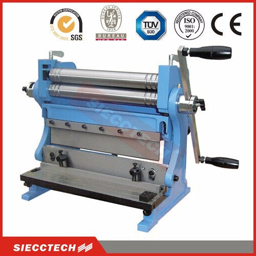 3-IN-1 machine combination shear brake and roll