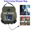 Outdoor Sports Portable Solar Camping Shower Bag 20L