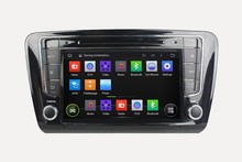 A9 Quad Core Android 4.4 Auto Radio Car Dvd For SKODA OCTAVIA 2014 Capacitive Touch Screen Obd Dvr Mirror Link